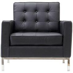 Modway Furniture Loft Leather Armchair  #design #homedesign #modern #modernfurniture #design4u #interiordesign #interiordesigner #furniture #furnituredesign #minimalism #minimal #minimalfurniture