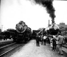 "Southern Railway ""The Tennessean"" (steam locomotives) :: Lane Brothers Photographs 1941"