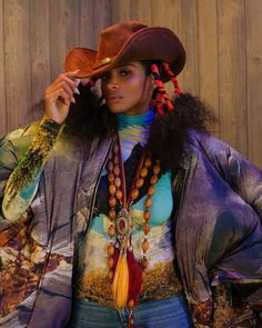 The Black Yeehaw agenda is chic and thriving. – Carla Aurelie – Medium Source by MissTHowze women clothes Cowgirl Look, Black Cowgirl, Black Cowboys, Cowboy And Cowgirl, Cowboy Hats, Urban Cowboy, Ciara Style, Fireman Costume, Black Women Fashion