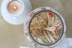 DIY Matchstick Bottle