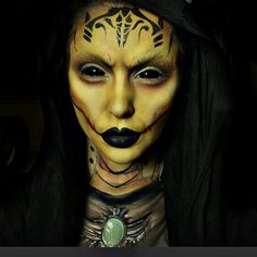 Show Makeup, Fx Makeup, Makeup Inspo, Makeup Ideas, Halloween Makup, Halloween Cosplay, Special Makeup, Special Effects Makeup, Face Illusions