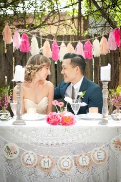 Vintage Mexican wedding - Alice Richards, Stylist