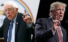 Donald Trump is exploiting a rocky day for the Democratic National Committee to reach out to Vermont Sen. Bernie Sanders' supporters who feel their candidate didn't get a fair shake in the primaries.