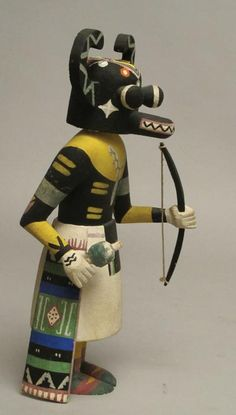 Hopi Kachina Doll (Side)