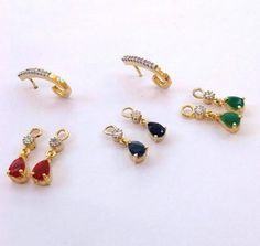 Find wide range of fashion jewellery, imitation, bridal, artificial, beaded and antique jewellery online. Buy imitation jewellery online from designers across India. Gemstone Jewelry, Gold Jewelry, Beaded Jewelry, Jewelery, Ear Rings, Nose Rings, Online Shopping, American Diamond Jewellery, Antique Jewellery Online