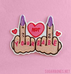 One ♥ FIGHT LIKE A GIRL ♥ Patch · ♥ SUGARBONES ♥ · Online Store Powered by Storenvy