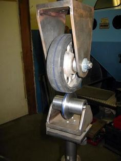 """Nothing Too Strong Ever Broke"": English Wheel Build Sheet Metal Art, Sheet Metal Tools, Metal Bending Tools, Metal Working Tools, Welding Shop, Welding Tools, Drilling Tools, Metal Projects, Welding Projects"
