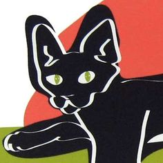 Flirt a Black Bombay Cat in the Limited Edition Cat by studio1212