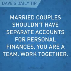 Dave Ramsey – Finance tips, saving money, budgeting planner Financial Peace, Financial Success, Financial Quotes, Financial Planning, Ways To Save Money, Money Saving Tips, Managing Money, Saving Ideas, Dave Ramsey Quotes