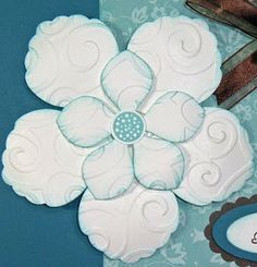Just Because ~ Blossom Petal Punch Card | Stampin N Scrapin with Donna Lee
