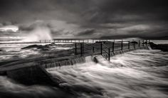 North Curl Curl surge by Mark Lucey
