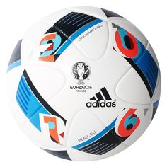 The new Adidas Euro 2016 Ball features a unique design. Revealed on November the new official match ball is called Adidas Jeu Beau Euro 16 Ball. Soccer Gear, Soccer Shop, Soccer Tips, Basketball Uniforms, Football And Basketball, Football Kits, Soccer Cleats, Soccer Ball, Soccer Players