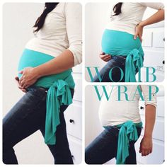Maternity Support Belt Pregnancy Belly WOMB WRAP by AbbyJaneKids