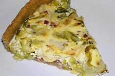 Spitzkohl - Quiche (Rezept mit Bild) von zickentoni | Chefkoch.de Vegan Vegetarian, Nom Nom, Pizza, Sandwiches, Favorite Recipes, Treats, Baking, Breakfast, Food