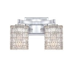 Website Picture Gallery Cascadia Lighting Light Tranquil Bay Polished Chrome Bathroom Vanity Light Lowes hall bathroom Pinterest Polished chrome Bathroom vanities and