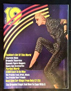Vintage  19  Magazine (1979) Carol Kane, Modern Fashion, Patti Boulaye, Superman