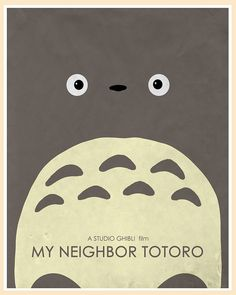 My Neighbor Totoro (1988) by acereject85, via Flickr