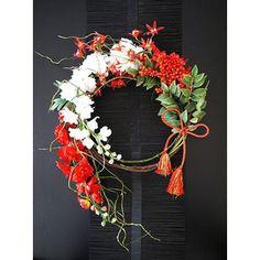 お正月飾り お正月リース グラジオラス|amada