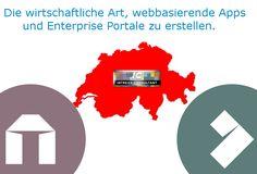 Die wirtschaftliche Art, webbasierende Apps und Enterprise Portale zu erstellen.