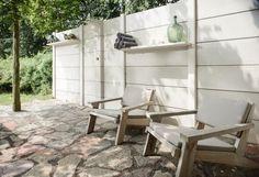WWOO Außenküche-Rückseite Windschutz-Sichtschutz für Garten