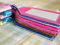 Quilt, Knit, Run, Sew: Luggage Tags
