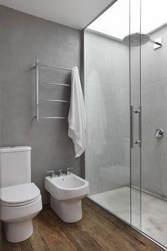 Concrete bathroom walls and wood shower floor cement tile bathroom ideas color bathroom ideas kids Contemporary Bathrooms, Wood Bathroom, Bathroom Inspiration, Wood Floor Bathroom, Amazing Bathrooms, Tile Bathroom, Bathroom Interior Design, Concrete Bathroom, Bathroom Design