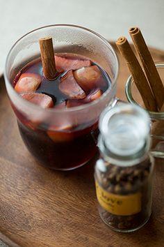 ホットワインレシピ、フルーティーな赤のホットワイン
