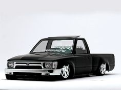LOOKING FOR PICS: Black JAPANESE Minitruck with Amazing Air Install - MiniTruckin General