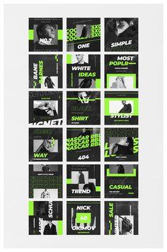 Instagram Design, Instagram Feed Layout, Feeds Instagram, Instagram Grid, Web Design, Grid Design, Type Design, Logo Design, Social Media Template