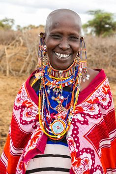 The Maasai live in Kenya, which is one of the many African nations that celebrate a handful of colourful festivities. The Maasai tribes wear Shukas (a type of cloth) and  beautiful beaded jewellery. The tribe is also known to be big meat eaters who don't mind drinking raw animal's blood .  Image by Britta Kasholm-Tengve
