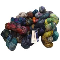 Malabrigo Mechita is a fingering weight 100% merino knitting and crochet yarn that is machine washable with deep saturated colors
