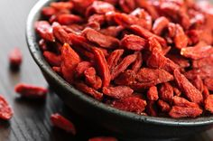 Goji berries have been used in traditional Chinese medicine for years. Goji berry benefits include fighting disease and improving digestion. Dried Goji Berries, Red Berries, Benefits Of Berries, Comidas Light, Berry, Nutrition, Herbal Remedies, Superfoods, Health And Wellness