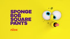 SpongeBob SquarePants bumper from Nickelodeon's 2017 brand refresh.