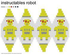 instructobot-шаблон.Формат PNG