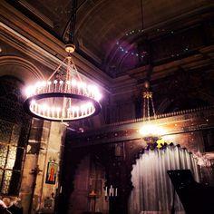 Chandelier #paris #eglise