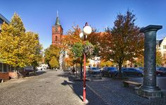 Bernau bei Berlin - Bürgermeisterstrasse - Marktplatz