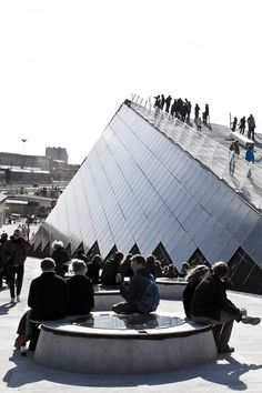 The roof terrace at Godsbanen, a creative workshop, in Aarhus. #godsbanen #creativityaarhus #roofterrace
