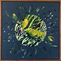 Claudia Gurwitz: Assemblage #3: fine art | StateoftheART South African Art, Office Art, Canvas Size, Framed Art, Original Artwork, Plant Leaves, Abstract, Gallery, Artist