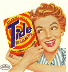 Tide - the new washing miracle!
