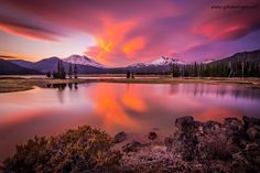 sparks lake extreme oregon