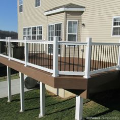 elevated deck ideas split level pinterest polishoff your raised deck with cover sleeve or wrap for the structural 84 best elevated and ideas images on poop