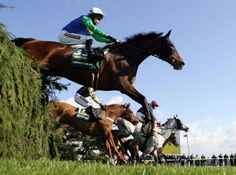 Schedule to the BIGgest #horse race of 2013 Grand National:-    4th April: Liverpool Day  5th April: Ladies Day  6th April: Grand National Day