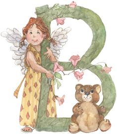 ANGEL'S ALPHABET - Pililucha - Picasa Web Albums..COLLECTION OF THE FAIRY ALPHABETS!