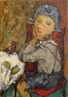 Title: MY LITTLE HERO Artist: Svetlana Kurmaz Medium: Oil on Canvas Size: 70x50 cm Year of creation: 2010 Status: AVAILABLE Canvas Size, Oil On Canvas, Hero, Medium, Artist, Painting, Painted Canvas, Painting Art, Paintings