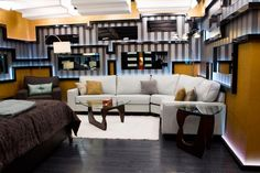 Big Brother Canada - The Show Big Brother 1, Big Brother Canada, Big Brother House, Construction Group, Loft, Table, Furniture, Home Decor, Decoration Home