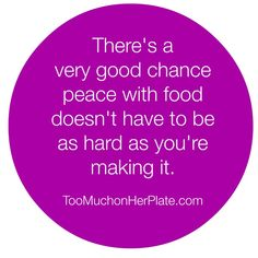 Emotional Eating Help: Are you making things too hard? | Too Much On Her Plate