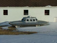 The Vintage Life: Crazy Atomic Car
