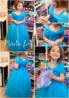 Ifyour daughter is like mine, she has been begging for the new Cinderella dress ever since she saw the trailer! Glitter, sparkles, butterflies, tulle....every little girl's dream! I had planned on...