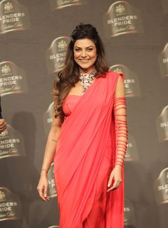 Sushmita Sen in saree blouse