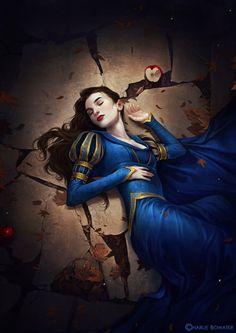 Snow White by Charlie-Bowater.deviantart.com on @deviantART